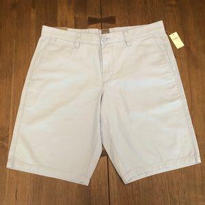 "Gap Khaki Shorts, Pastel Blue Size 34"" New w Tags"